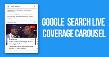 Google Search Live Coverage Carousel