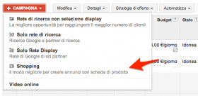 Campagne Shopping su AdWords disponibili per tutti