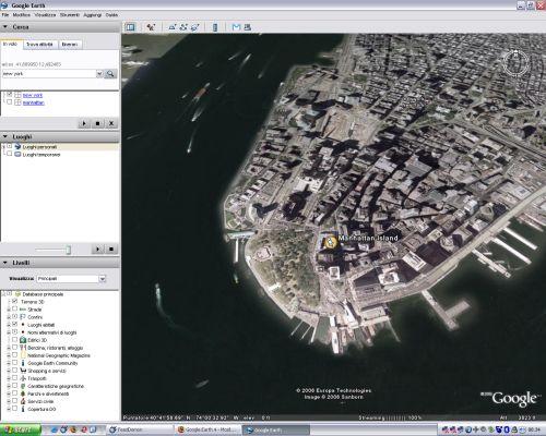 Nuova versione di Google Earth in italiano