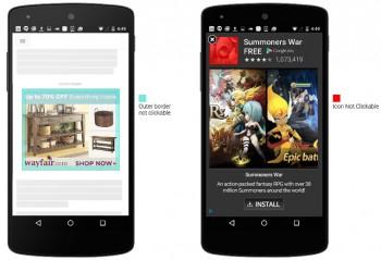Google cerca di ridurre i clic accidentali sugli annunci AdWords su mobile