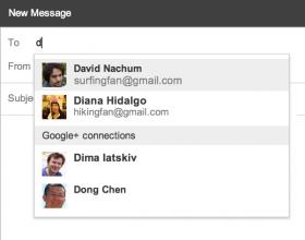 Contattare ed essere contattati più facilmente da utenti Google+
