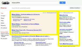 Troppa pubblicità nella testata di un sito non piace a Google