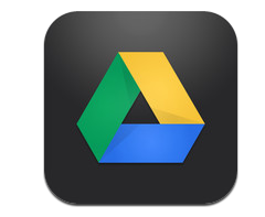 Google Drive logo per iPhone