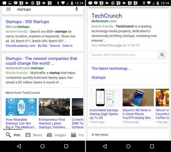Novità per le ricerche da mobile su Google: il carosello degli articoli correlati