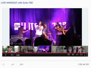 Eventi video live su Google+
