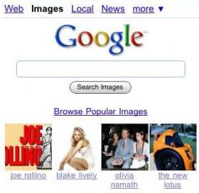 Le immagini più popolari di Google sul cellulare