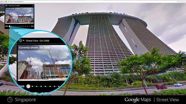 Viaggio indietro nel tempo con Google Street View