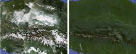 Immagini satellitari senza nuvole su Google Maps e Google Earth