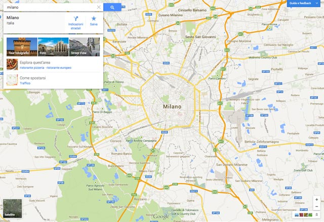 Nuove Google Maps
