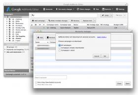 AdWords Editor: nuova interfaccia per gestire più facilmente le campagne