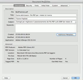 Come ottimizzare i PDF per i motori di ricerca
