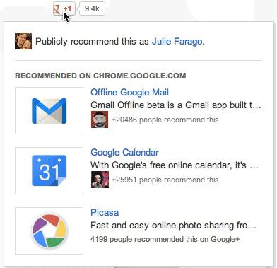 Consigli di lettura su Google Plus