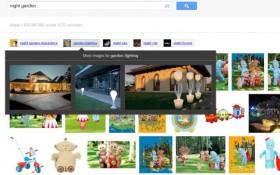 Google sperimenta una nuova interfaccia per le immagini correlate