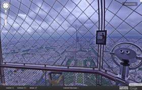 Visita la torre Eiffel con Google Street View
