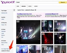 La ricerca immagini di Yahoo ora con le foto di Flickr