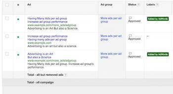 Ads Added by AdWords: Google crea nuove varianti degli annunci testuali