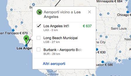 Voli Los Angeles - Aeroporti