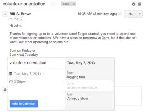 Creare appuntamenti su Google Calendar direttamente da Gmail