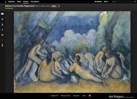 Cezanne - Le grandi bagnanti