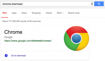 Una novità per chi cerca software da scaricare su Google