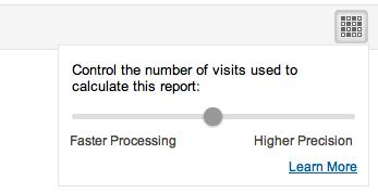 Controllare la velocità dei report di analytics