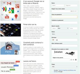 Vuoi un account Google? Allora prendi anche Gmail e Google+