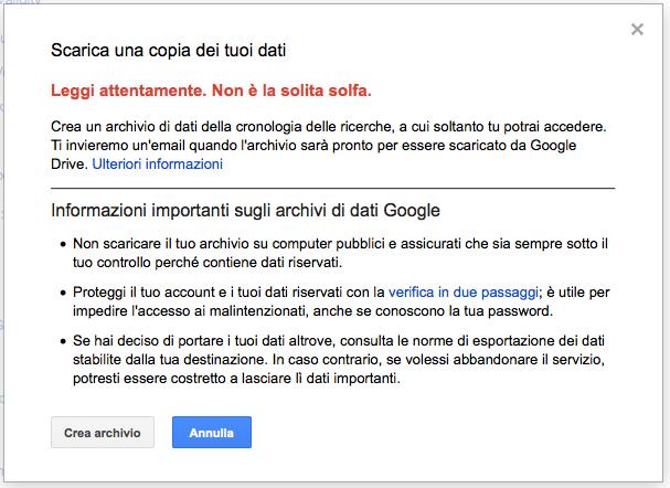 google-download-cronologia-ricerche