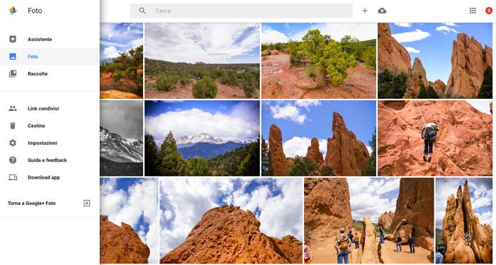 google-foto-web