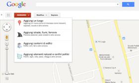 Google Map Maker anche in italiano