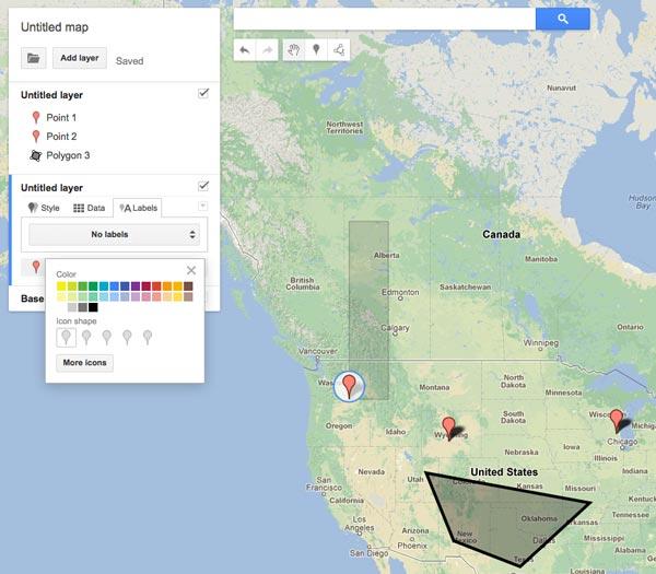 Mappe personalizzate con il map engine di Google