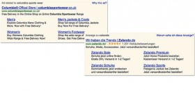 Site links google Adwords