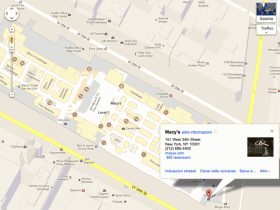 Planimetria di Macy's a New York