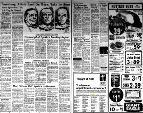 Pittsburgh Post-Gazette del 1969