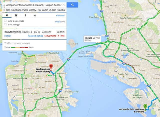 Mappa San Francisco