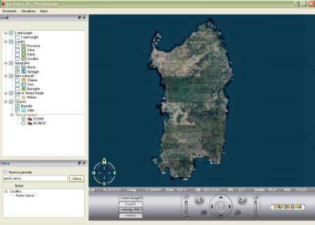 Sardegna in 3D