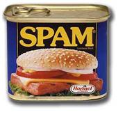 confezione di spam