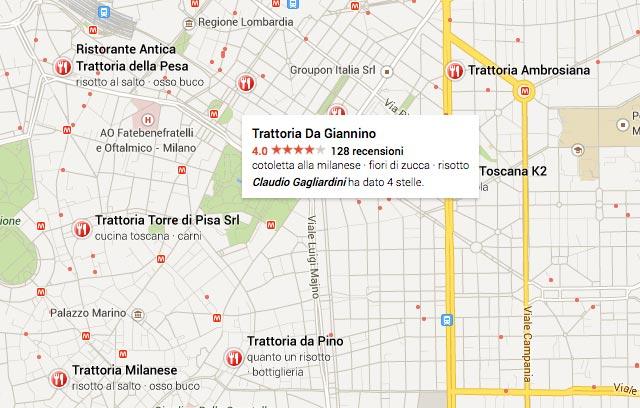 trattorie-milano-google-maps
